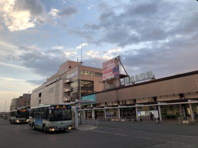 青森駅に降り立つ
